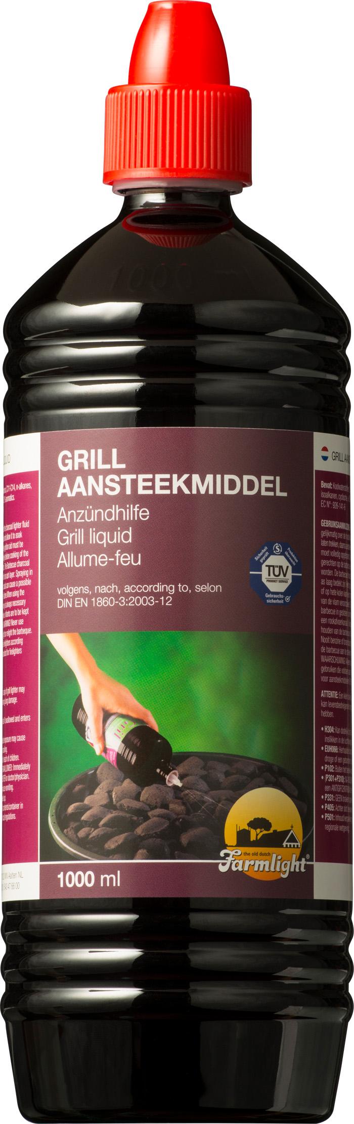 00202 - Farmlight Grill Anzündflüssigkeit 1000 ml