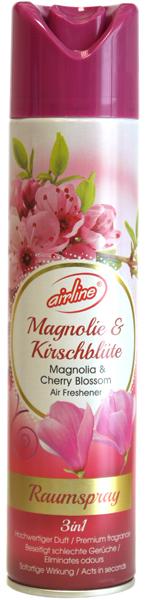 00513 - airline Raumspray 300 ml - Magnolie & Kirschblüte