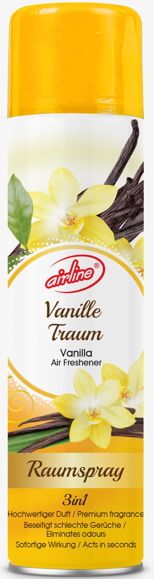 00514 - air freshener spray 300 ml - vanilla