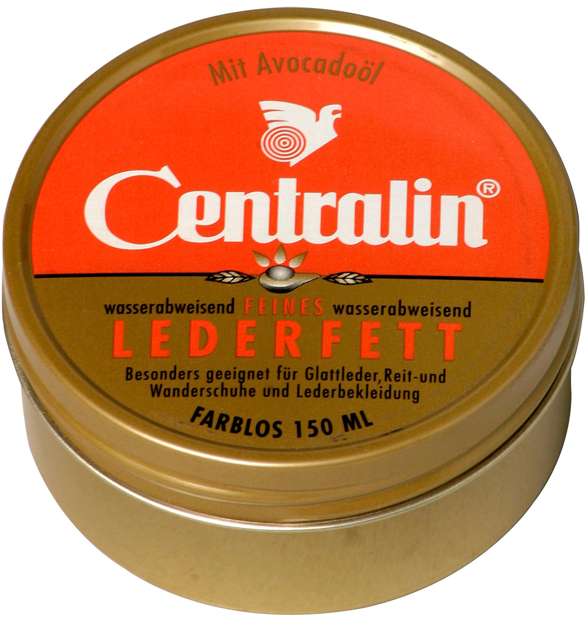 00663 - Centralin Lederfett 150 g Dose -farblos-