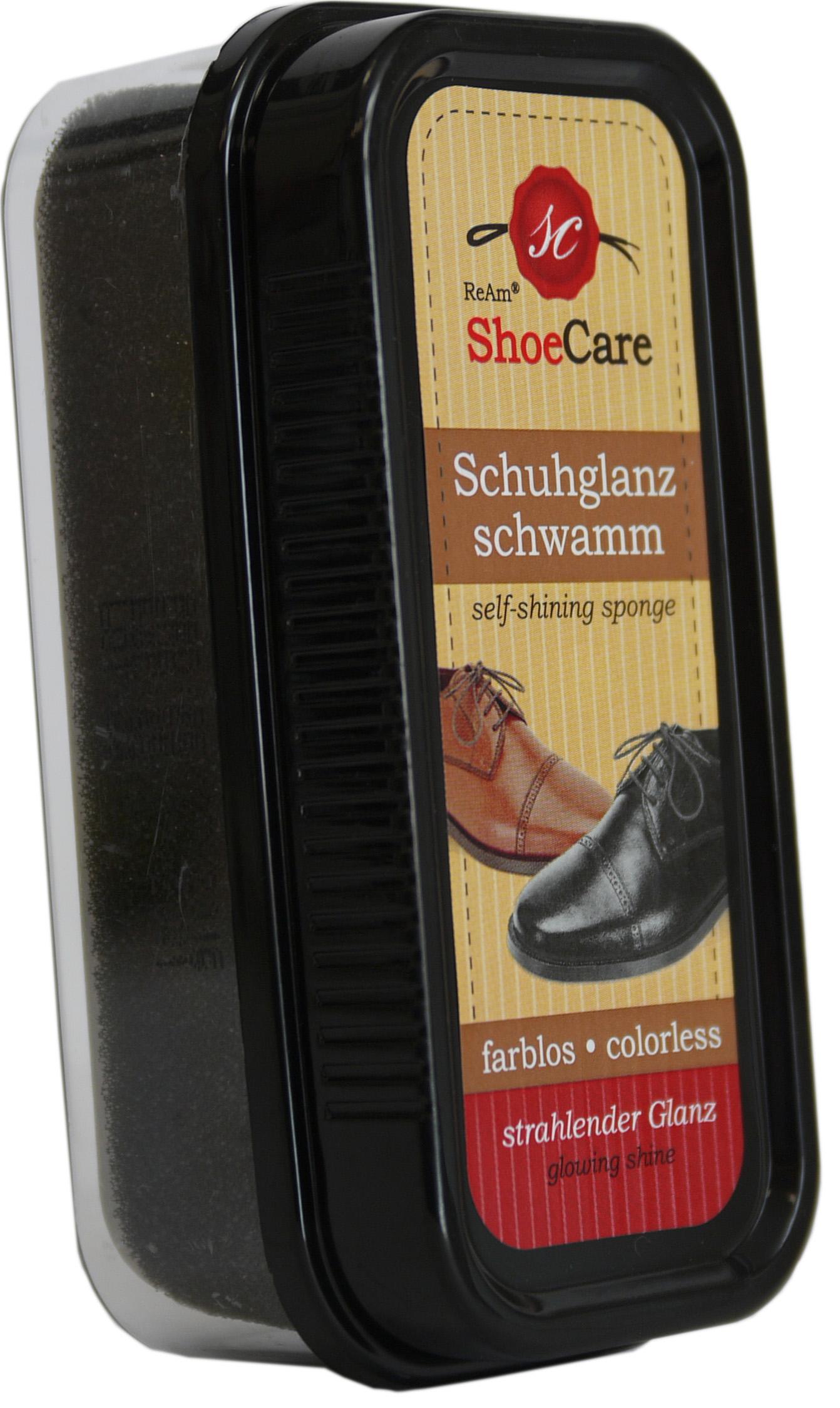 00667 - Schuhglanzschwamm -selbstglänzend-farblos