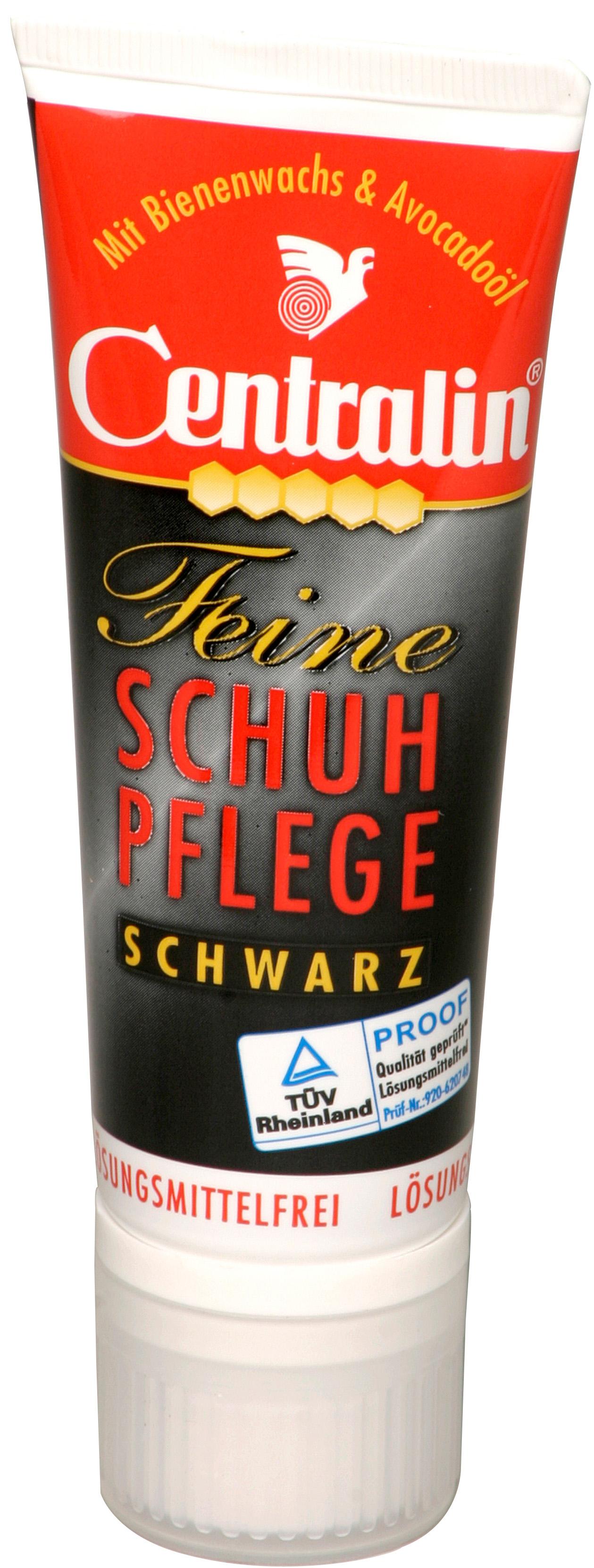 00673 - Centralin Schuhcreme 75ml Tube -schwarz-