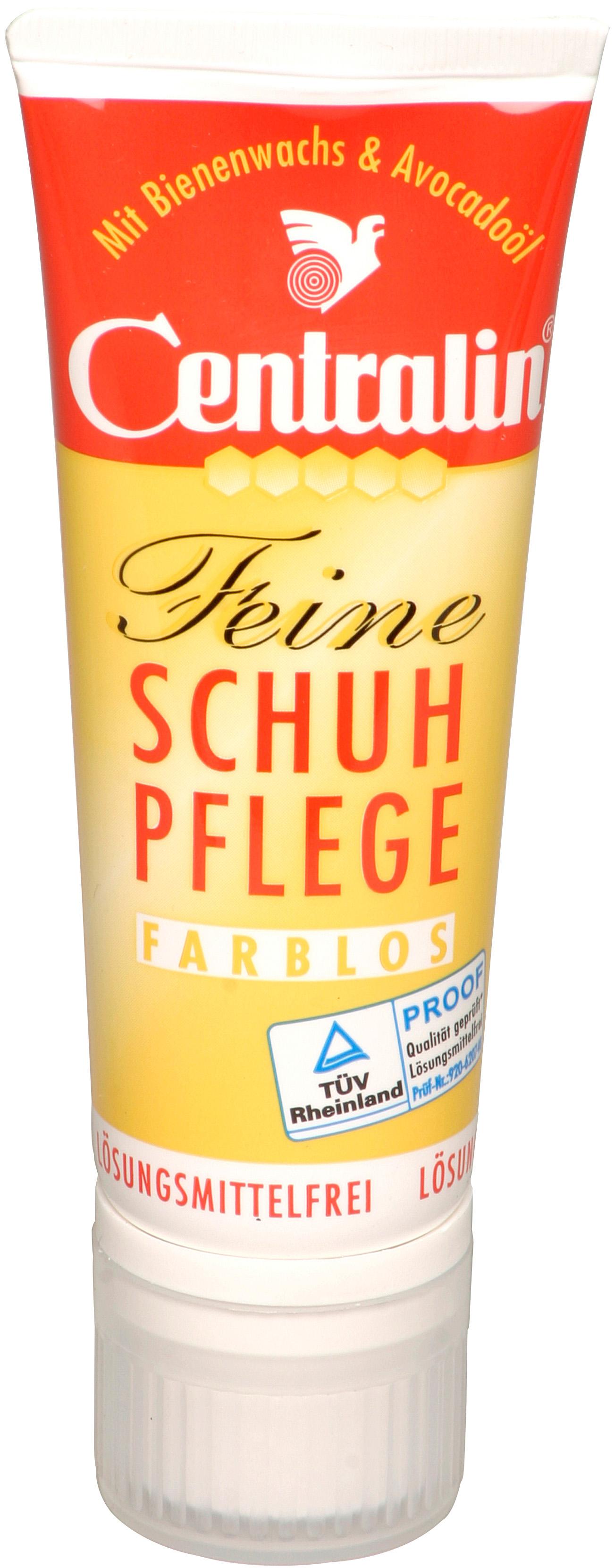 00674 - Centralin Schuhcreme 75 ml Tube -farblos-