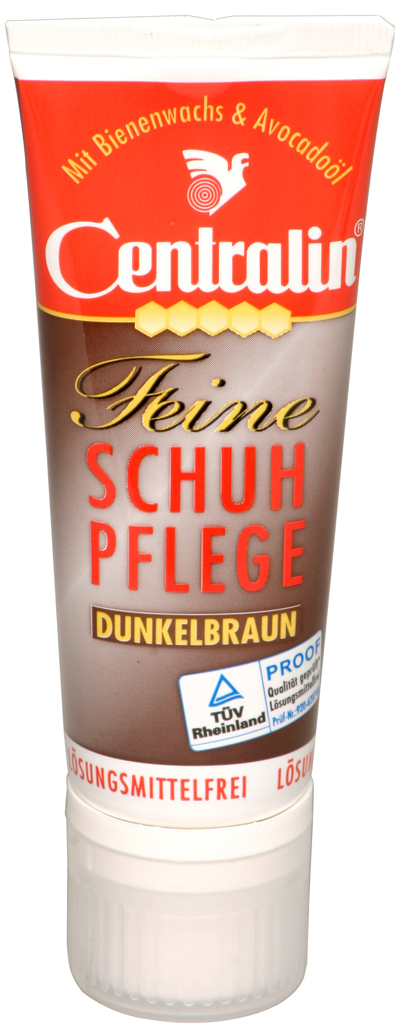 00675 - Centralin Schuhcreme 75 ml Tube -braun-