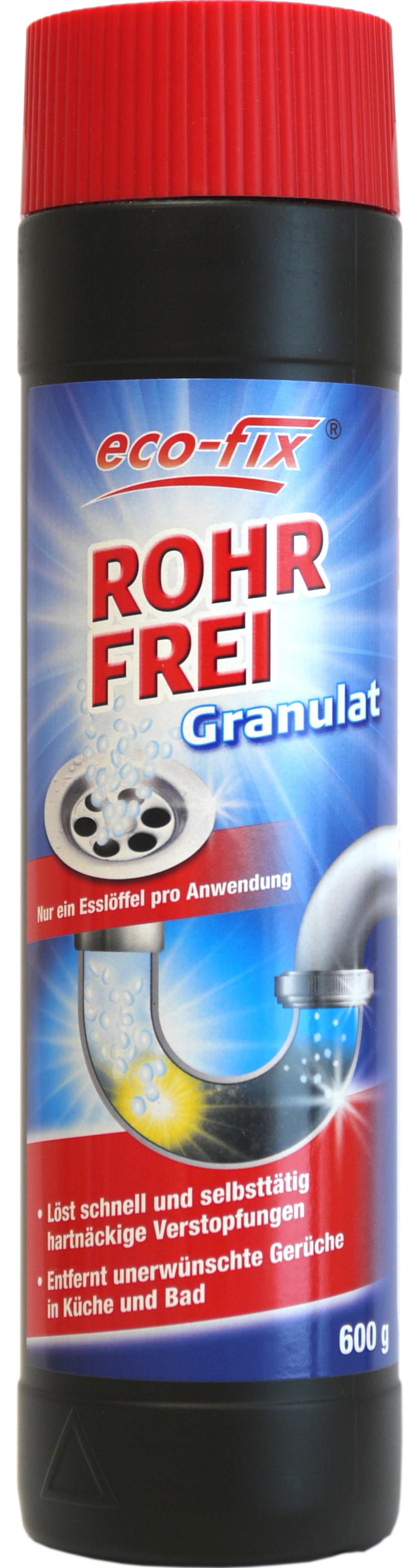00726 - eco-fix  Rohrfrei Granulat 600 g