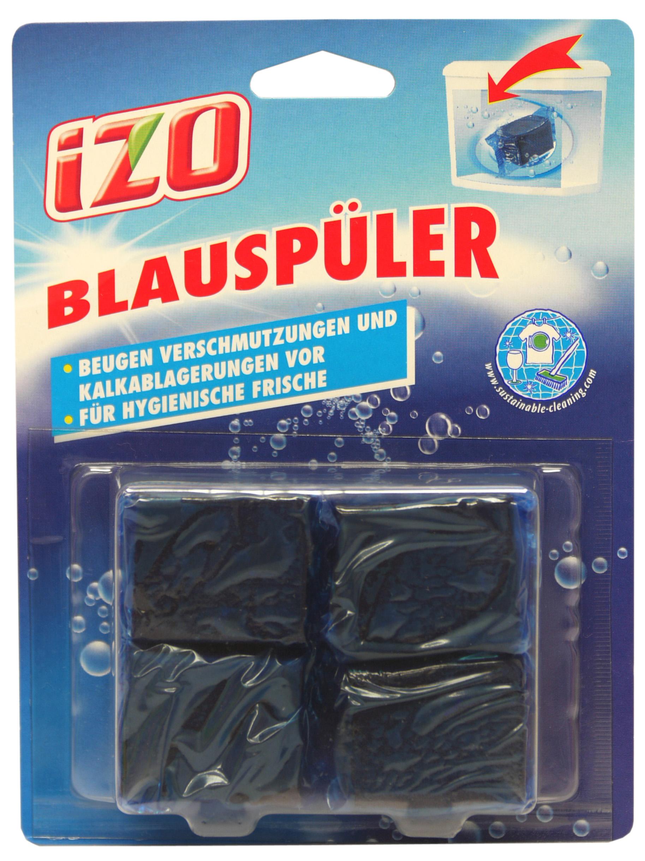 00893 - IZO WC Blauspüler 4er