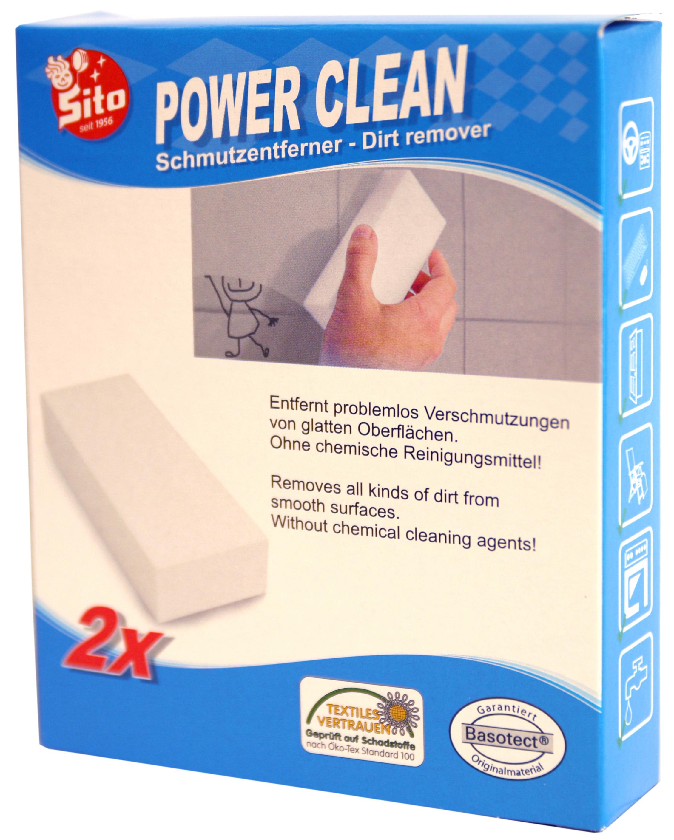 01312 - Power Clean Schmutzradierer Schwamm 2er