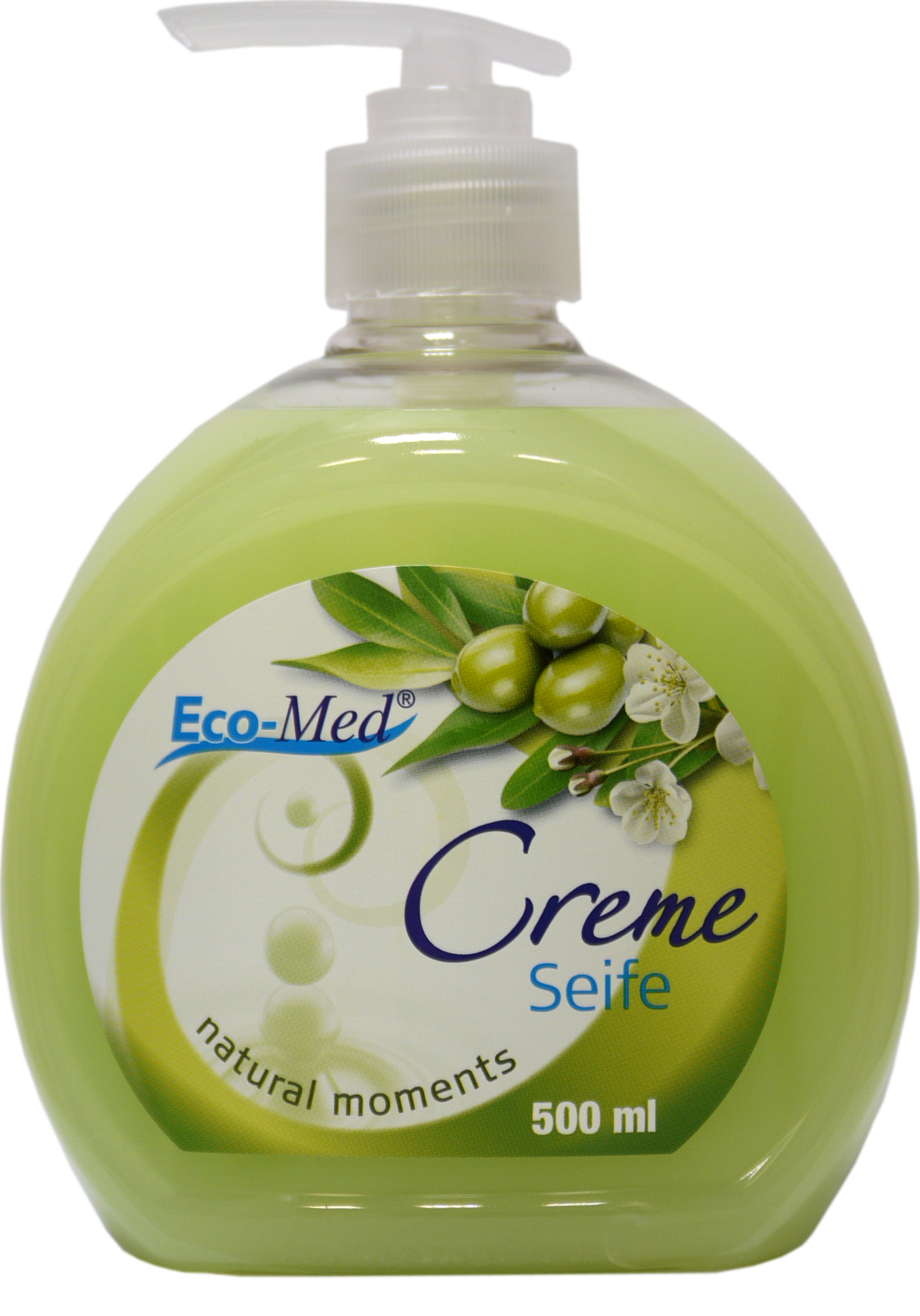 01603 - Eco-Med Cremeseife 500 ml Natural Moments