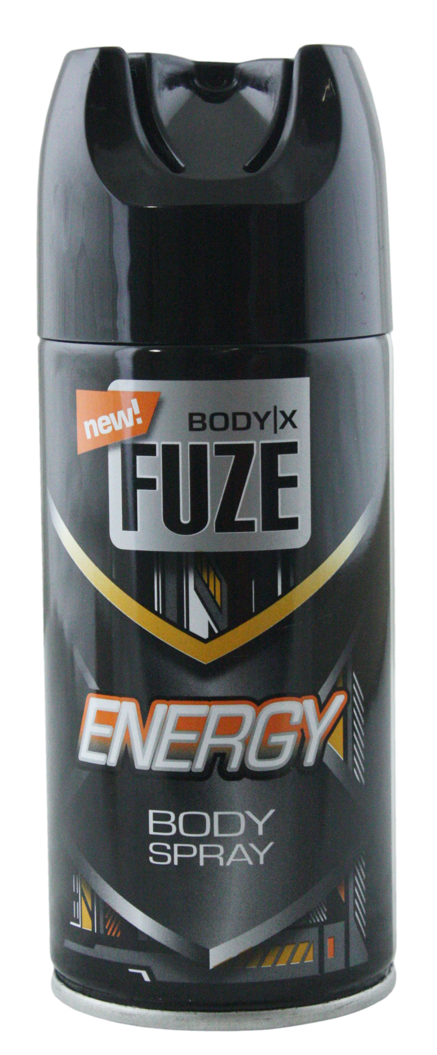 01662 - Deo- / Bodyspray for men, 150 ml - Energy