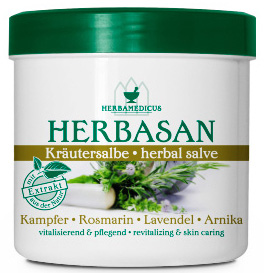 01802 - Herbamedicus Herbasan Kräutersalbe 250 ml