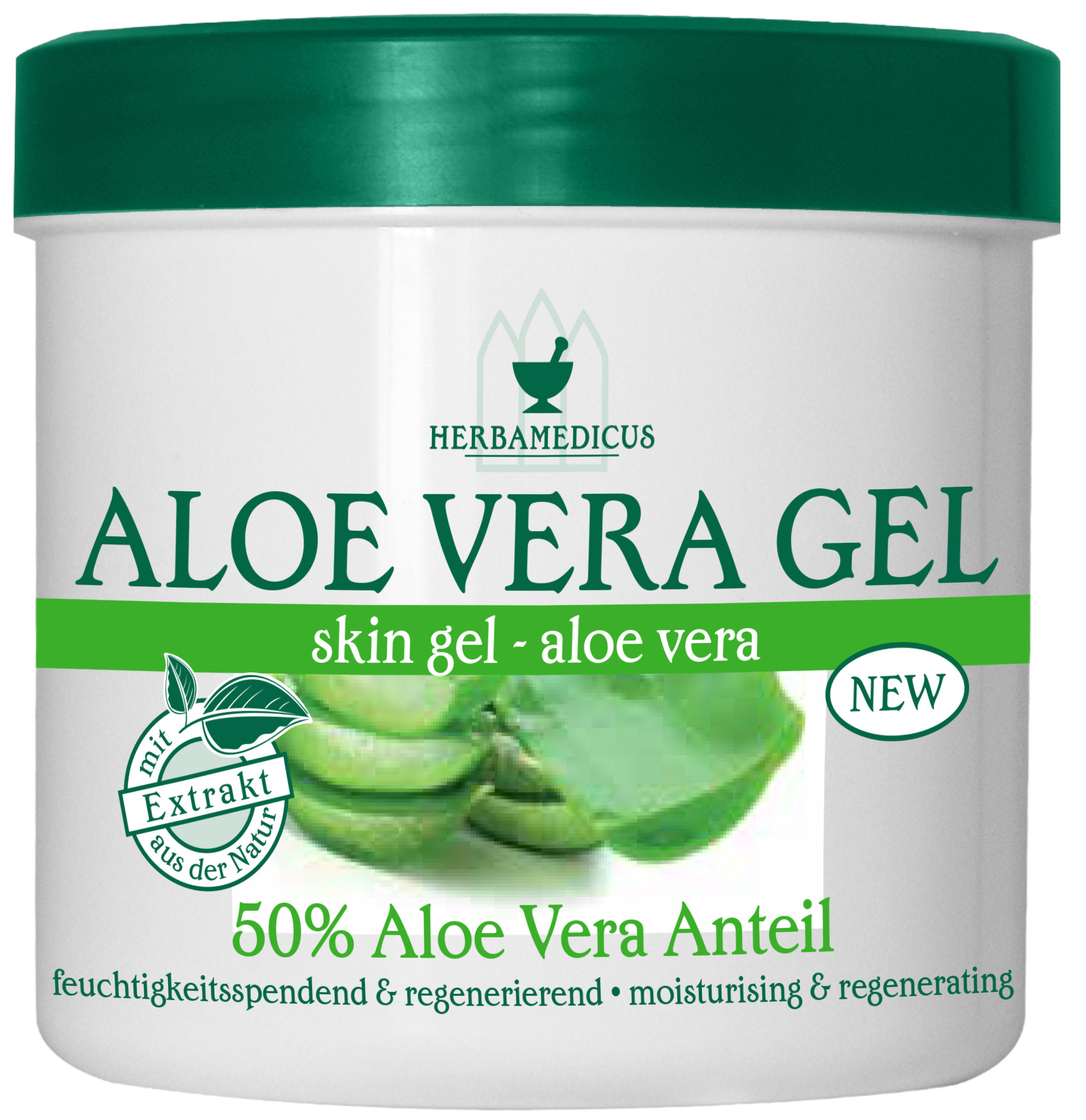 01829 - Herbamedicus Aloe Vera Gel 250 ml