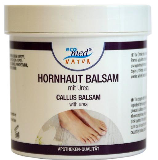 01836 - eco med Natur Hornhaut Balsam mit Urea 250 ml