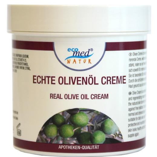 01839 - eco med Natur Olivenöl Creme 250 ml