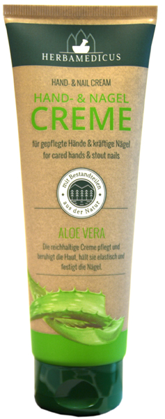 01846 - Herbamedicus Hand-& Nagelcreme Aloe Vera 125ml