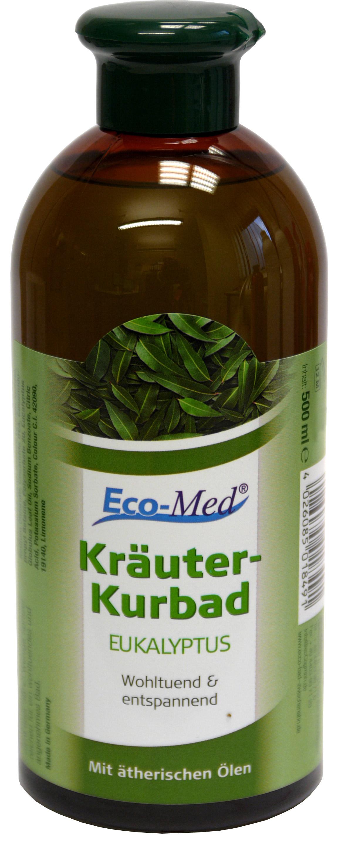 01849 - Eco-Med Kräuterkurbad 500 ml Eukalyptus