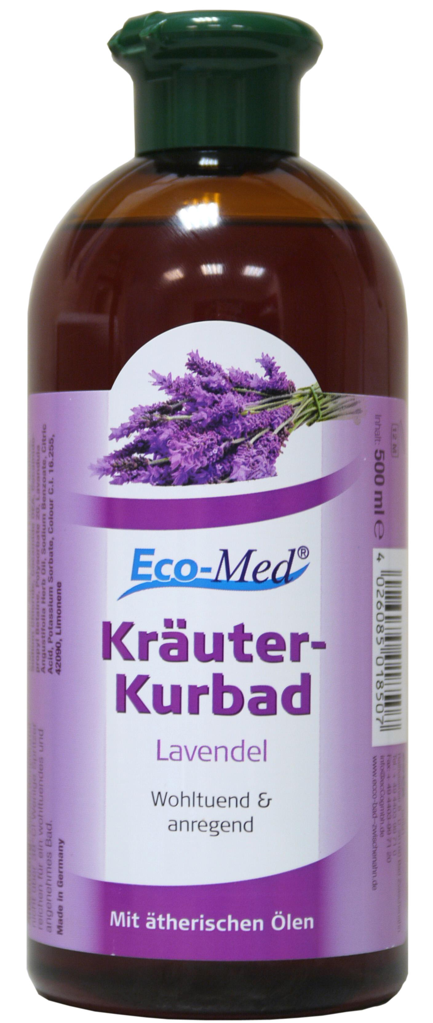 01850 - Eco-Med Kräuterkurbad 500 ml Lavendel