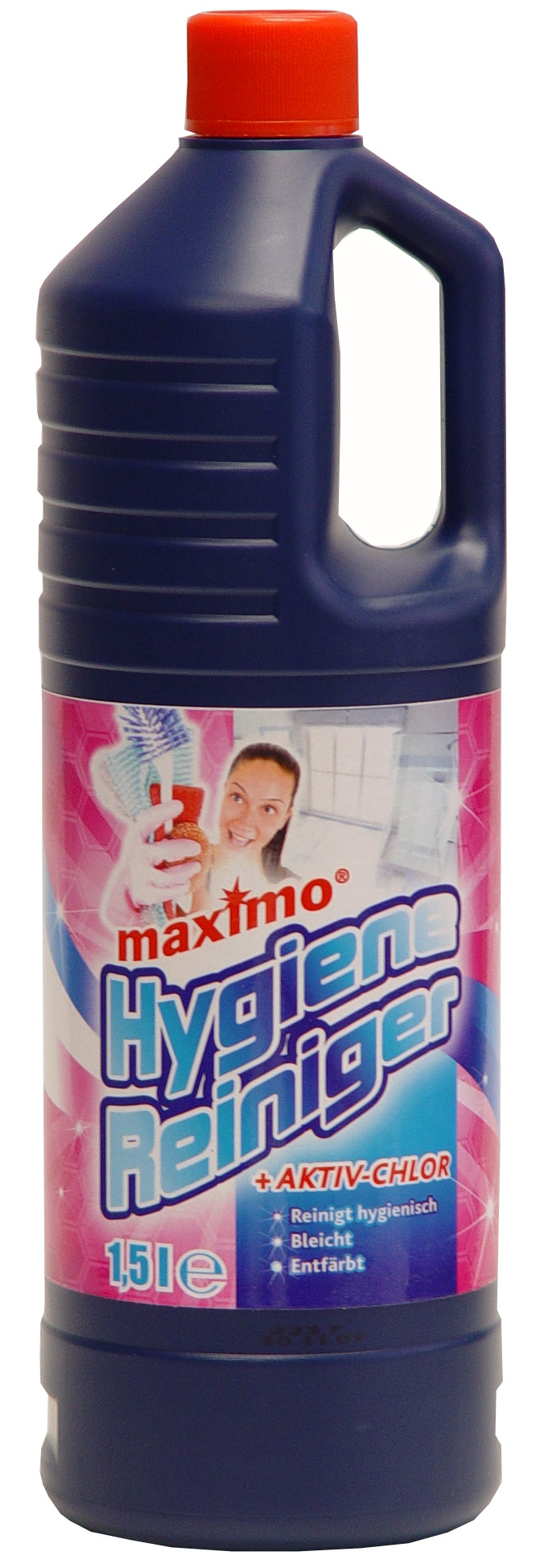 01887 - Aktiv Chlor Hygiene Reiniger 1500 ml