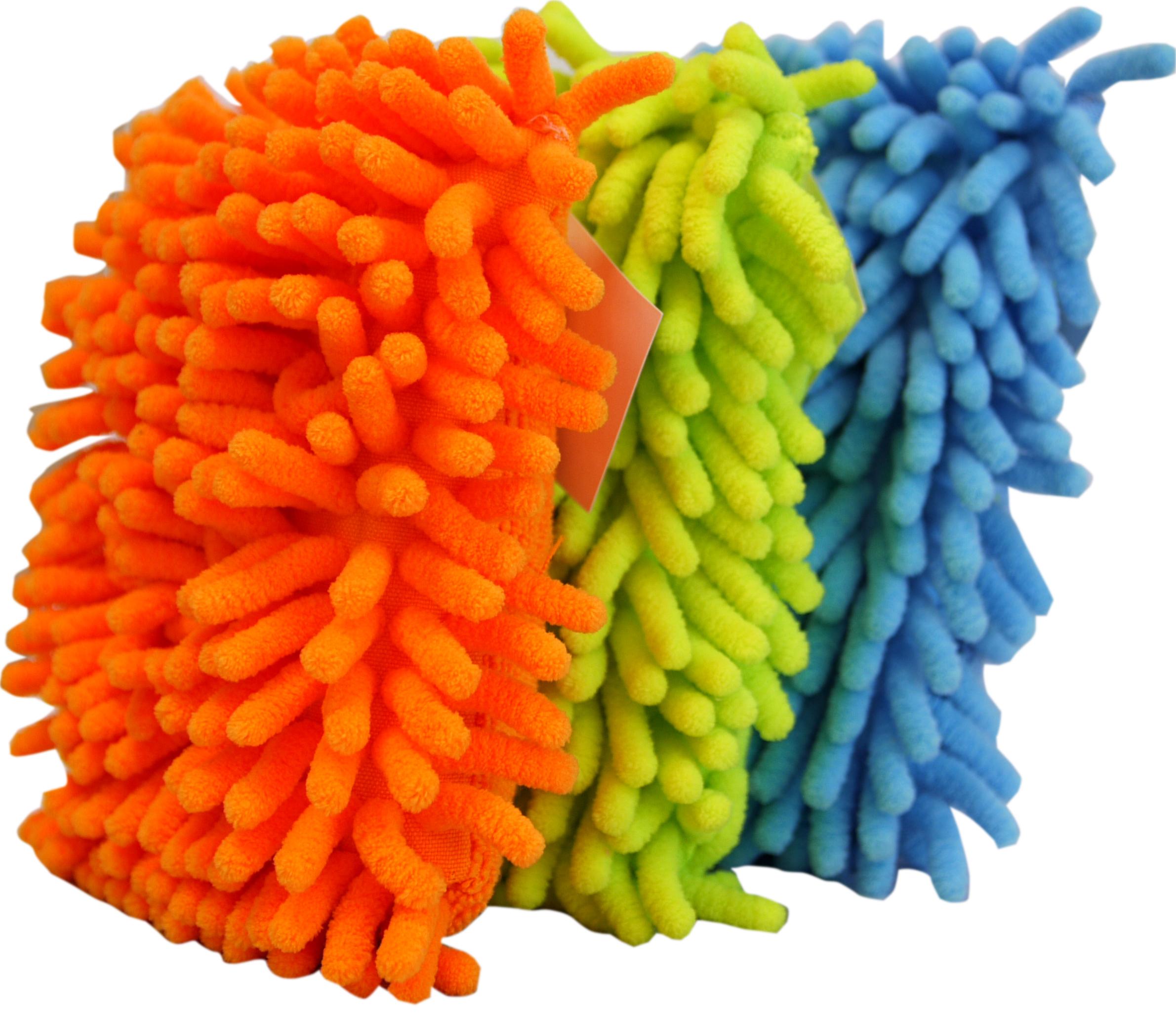 01909 - Microfaser Chenille Reinigungsschwamm, ca. 13x10 cm