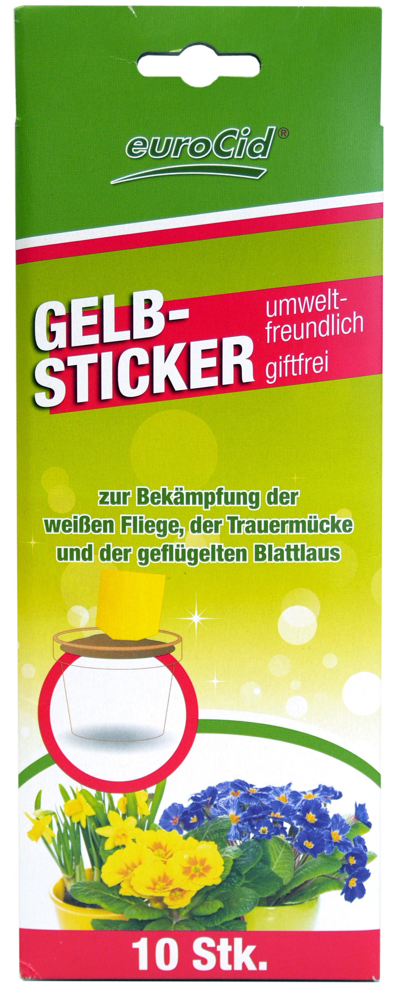 02179 - euroCid Gelbsticker 10er im Displaykarton