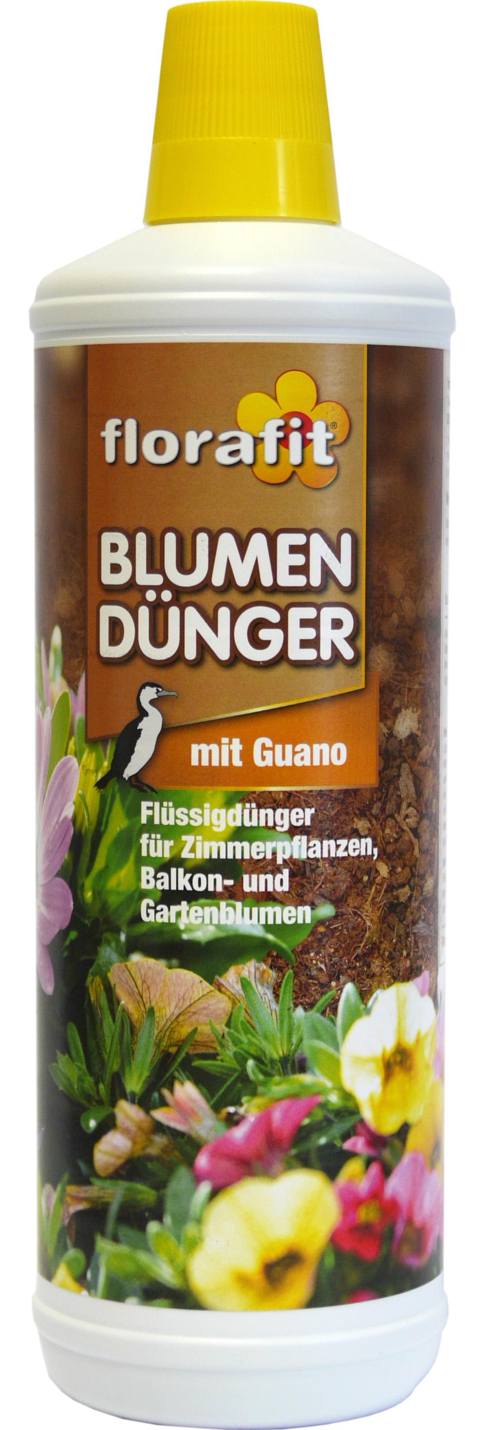 02210 - florafit Blumendünger 1000 ml -mit Guano-