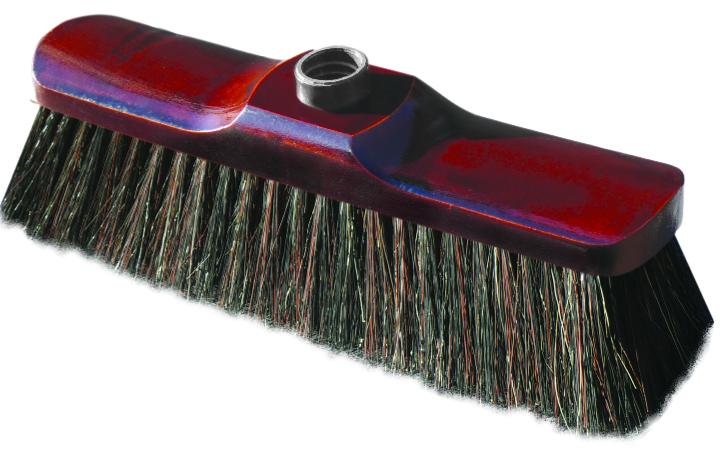 02286 - Zimmerbesen 28 cm, aus Holz mit Naturborsten