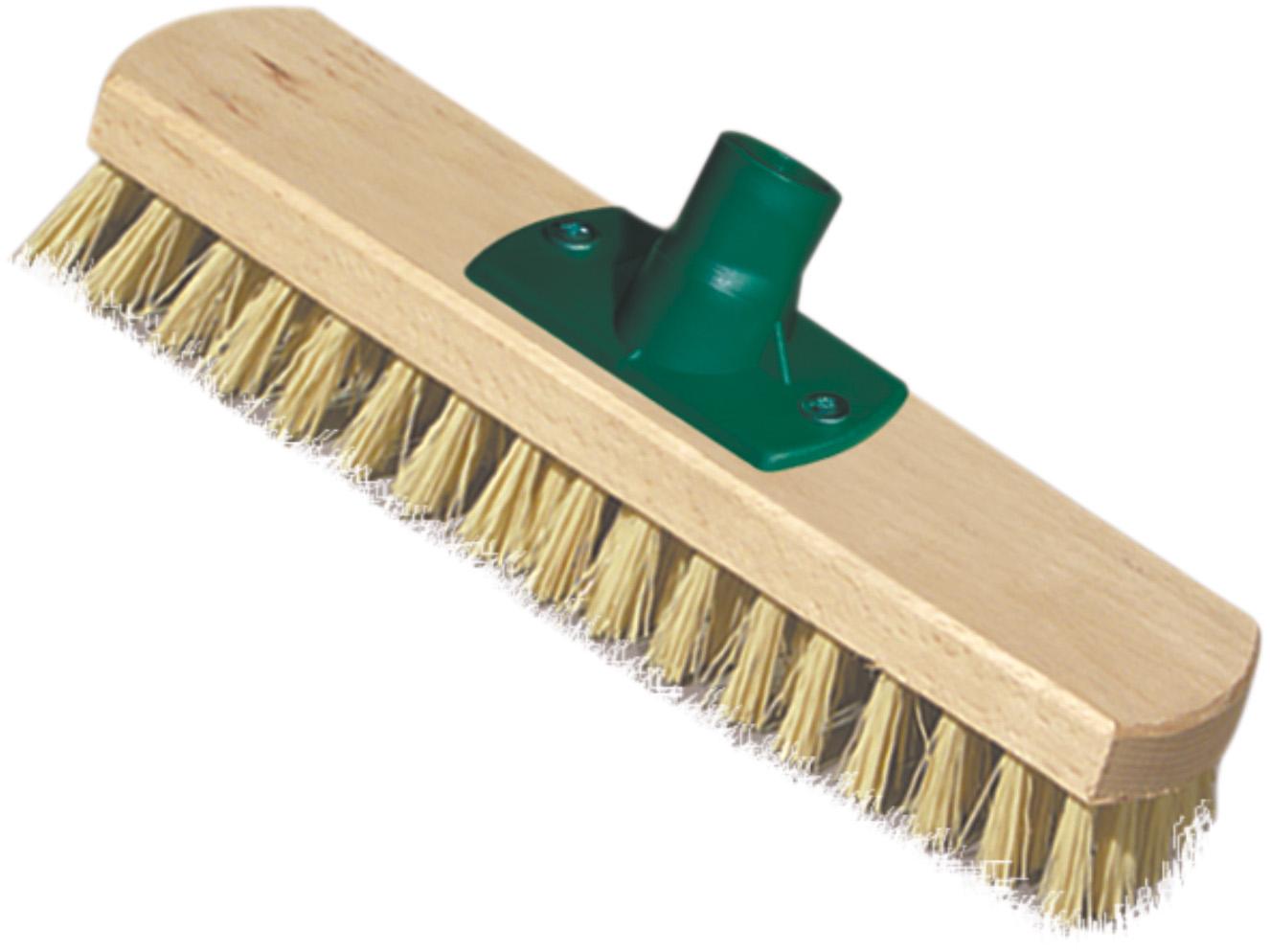 02301 - Schrubber, Holz, 23cm, mit Gewinde