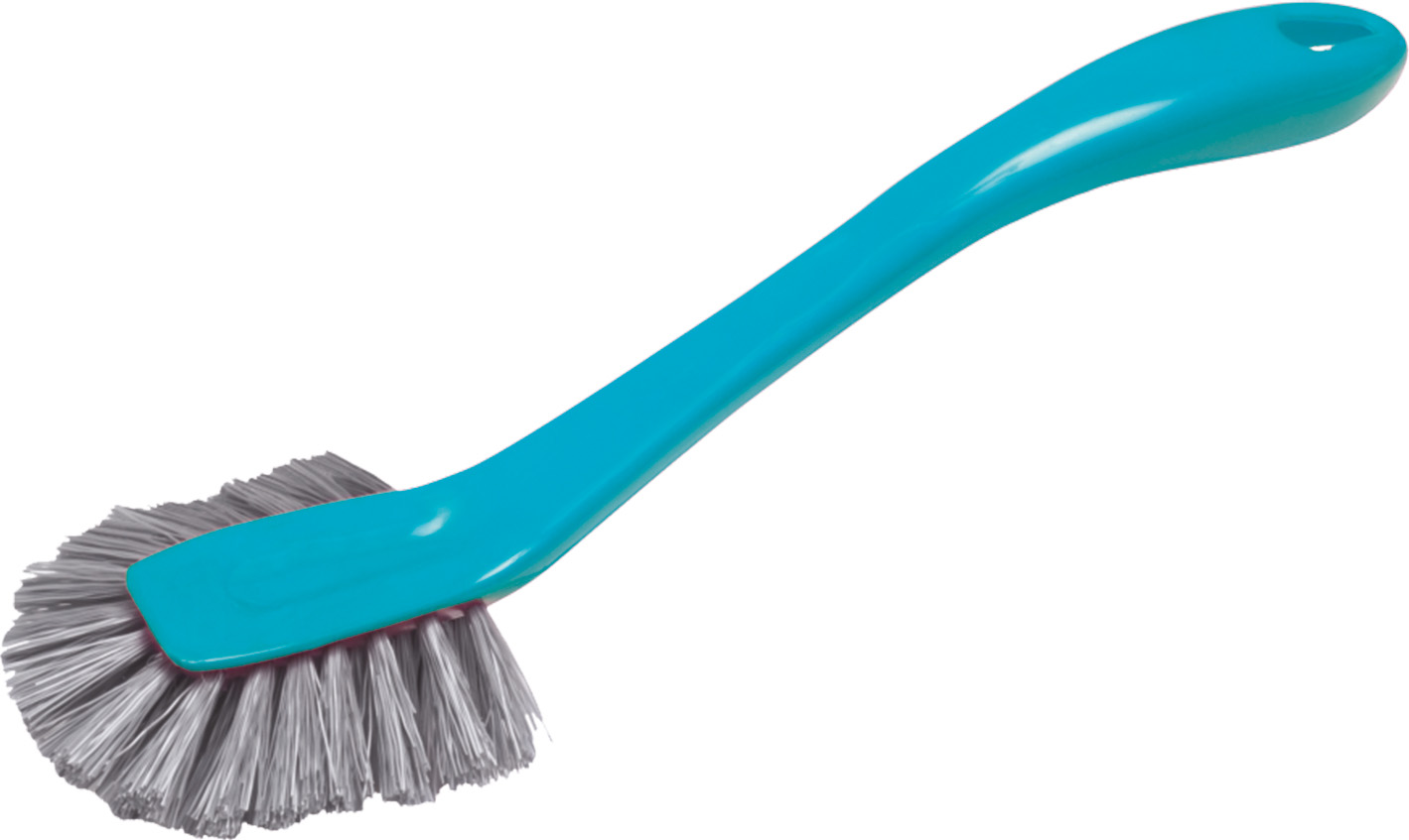 02311 - Geschirrspülbürste mit ovalem Kopf, farbig sortiert