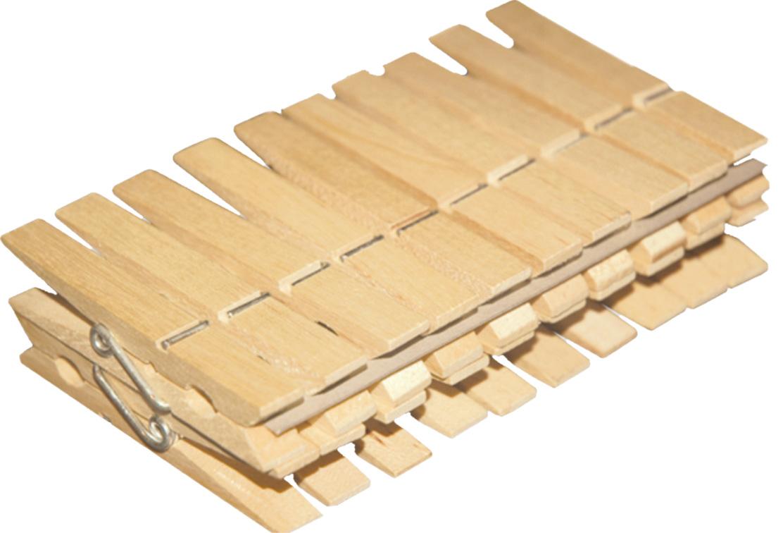 02340 - Wäscheklammern 20 Stk, Holz