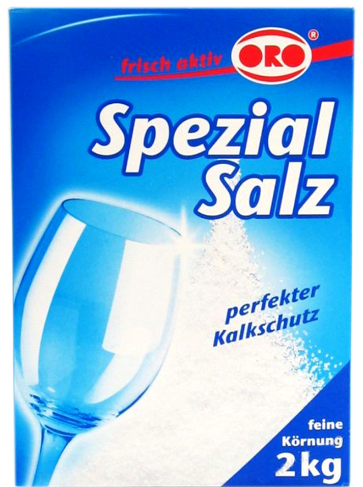 "02408 - frisch aktiv Spezialsalz ""Classic"" für Geschirrspülmaschinen 2 kg"