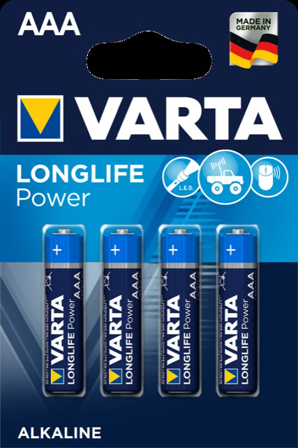 52713 - Varta Batterien Micro/AAA/ LR03 4er- High Energy