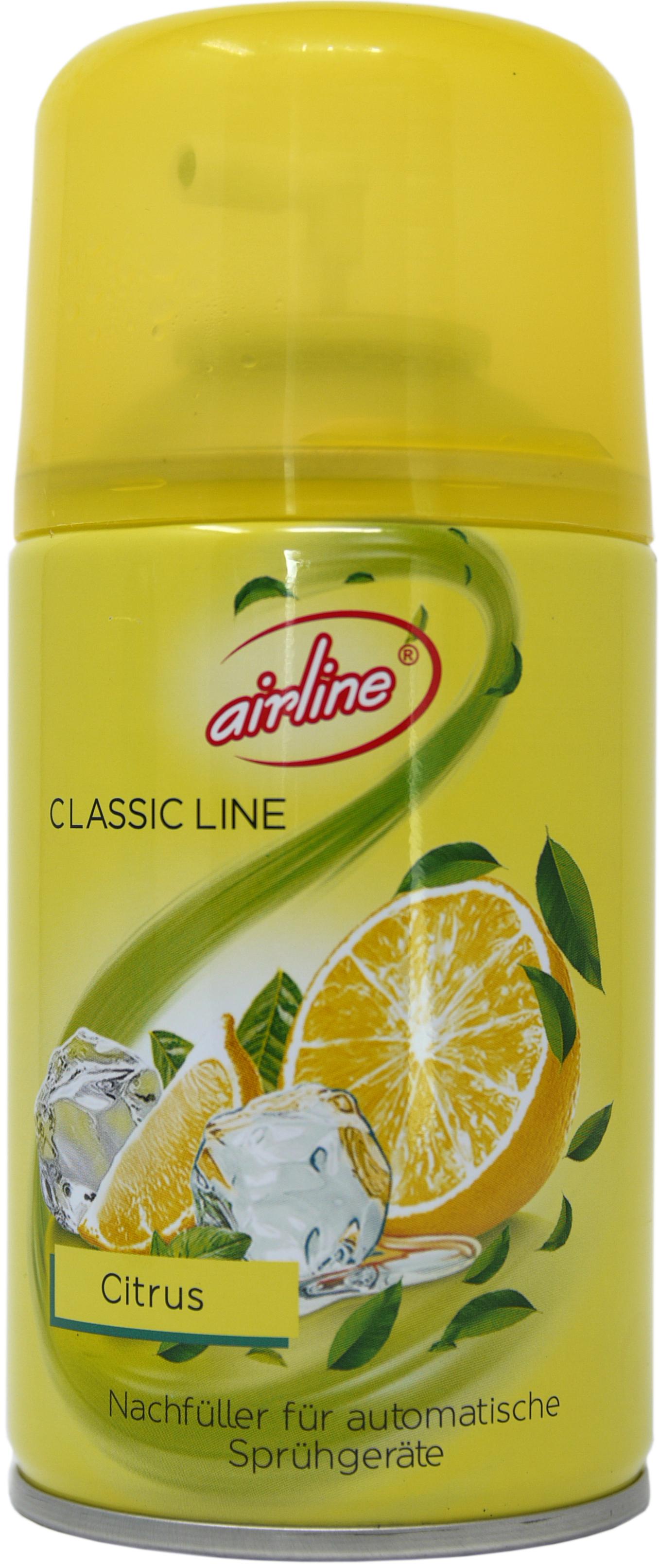 00505 - airline Classic Line Citrus Nachfüllkartusche 250 ml
