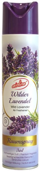 00511 - airline Raumspray 300 ml - Wilder Lavendel