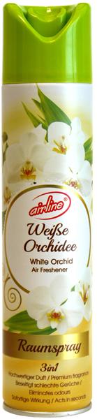 00512 - air freshener spray 300 ml - white orchid
