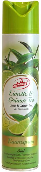 00516 - airline Raumspray 300 ml - Limette und Grüner Tee