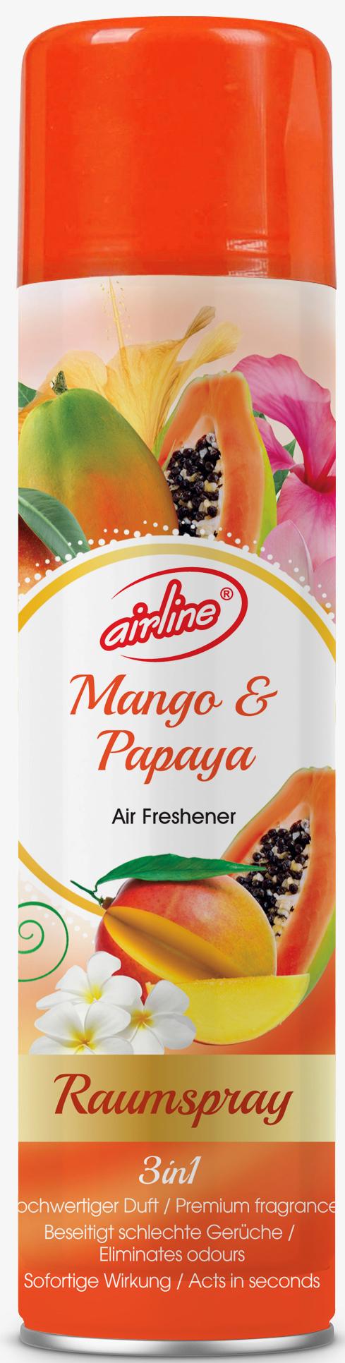 00517 - airline Raumspray 300 ml - Mango und Papaya