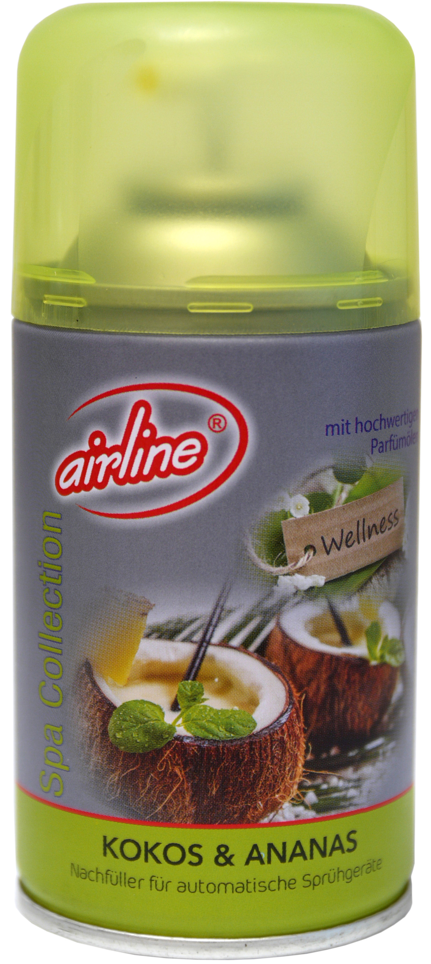 00520 - airline Spa Collection Kokos & Ananas Nachfüllkartusche 250 ml