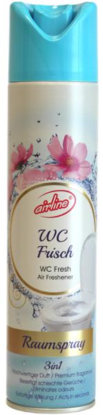 00533 - air freshener spray 300 ml - WC fresh