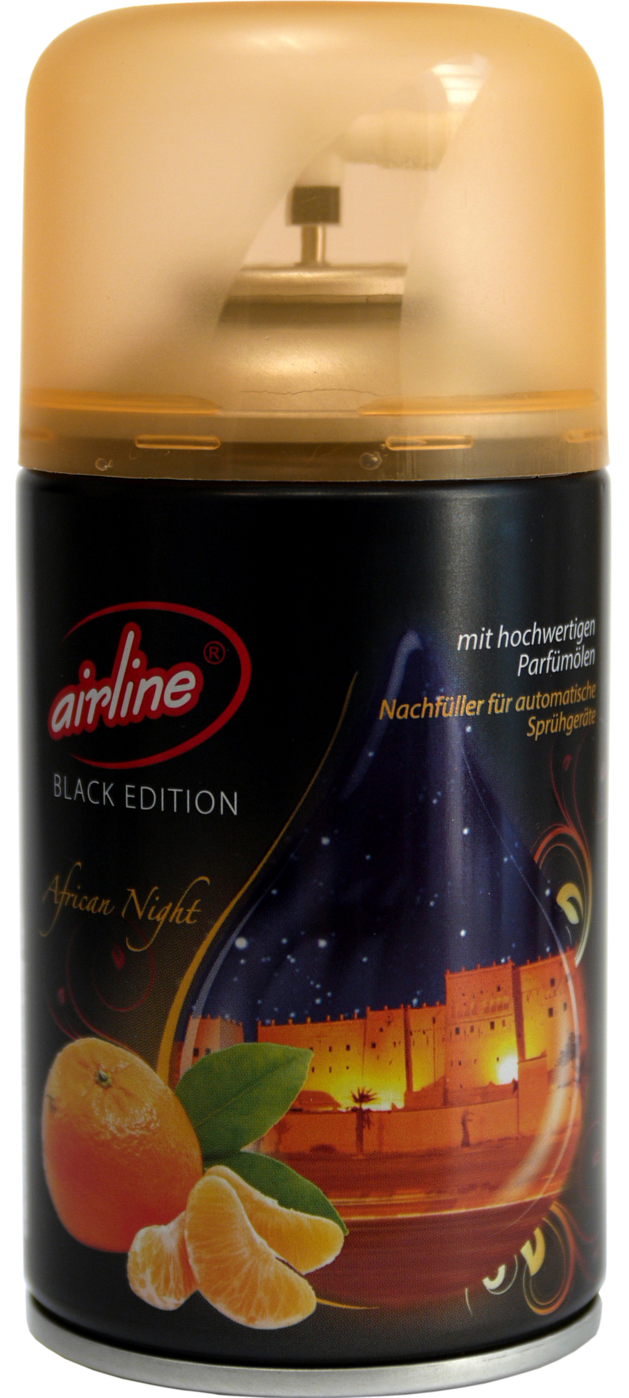 00536 - airline Black Edition African Night Nachfüllkartusche 250 ml
