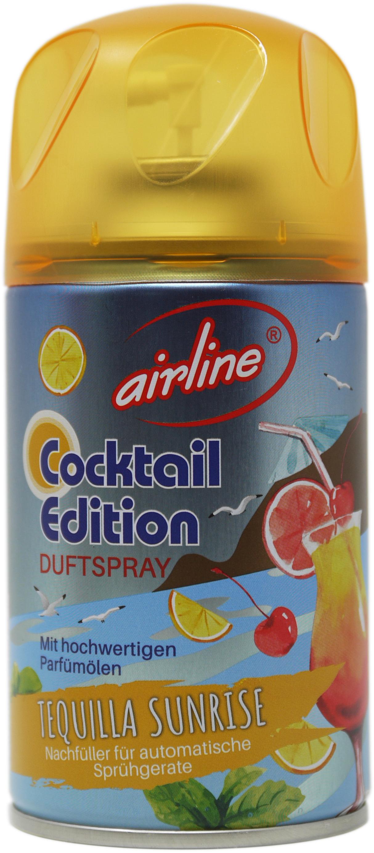 00561 - airline Cocktail Edition Tequila Sundrise Nachfüllkartuschen 250 ml