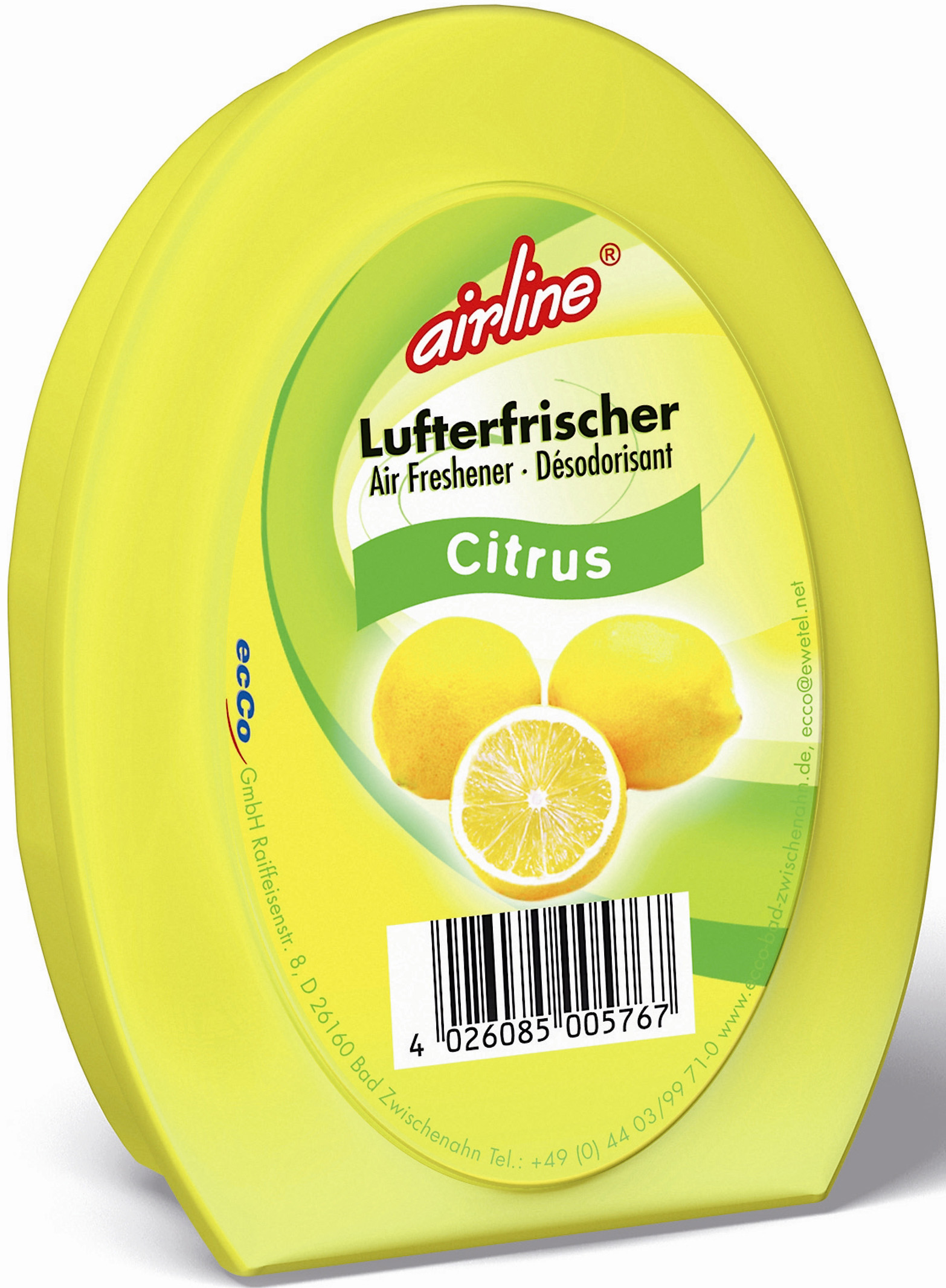 00576 - airline Duftgel 150 g - Citrus