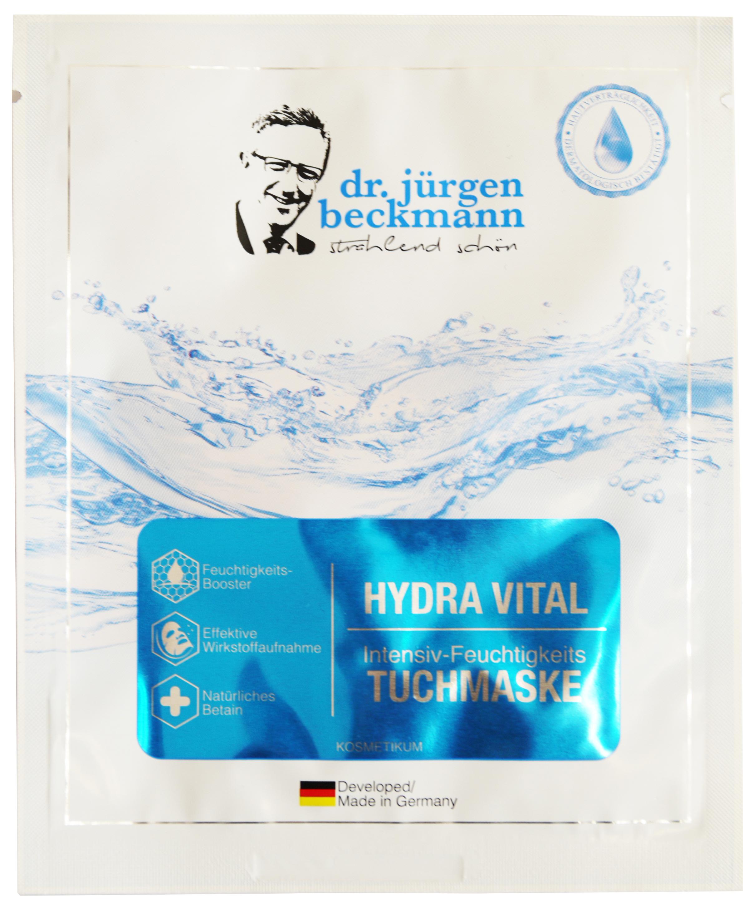 00631 - Hydra Vital Gesichtstuchmaske - Intensive Feuchtigkeit
