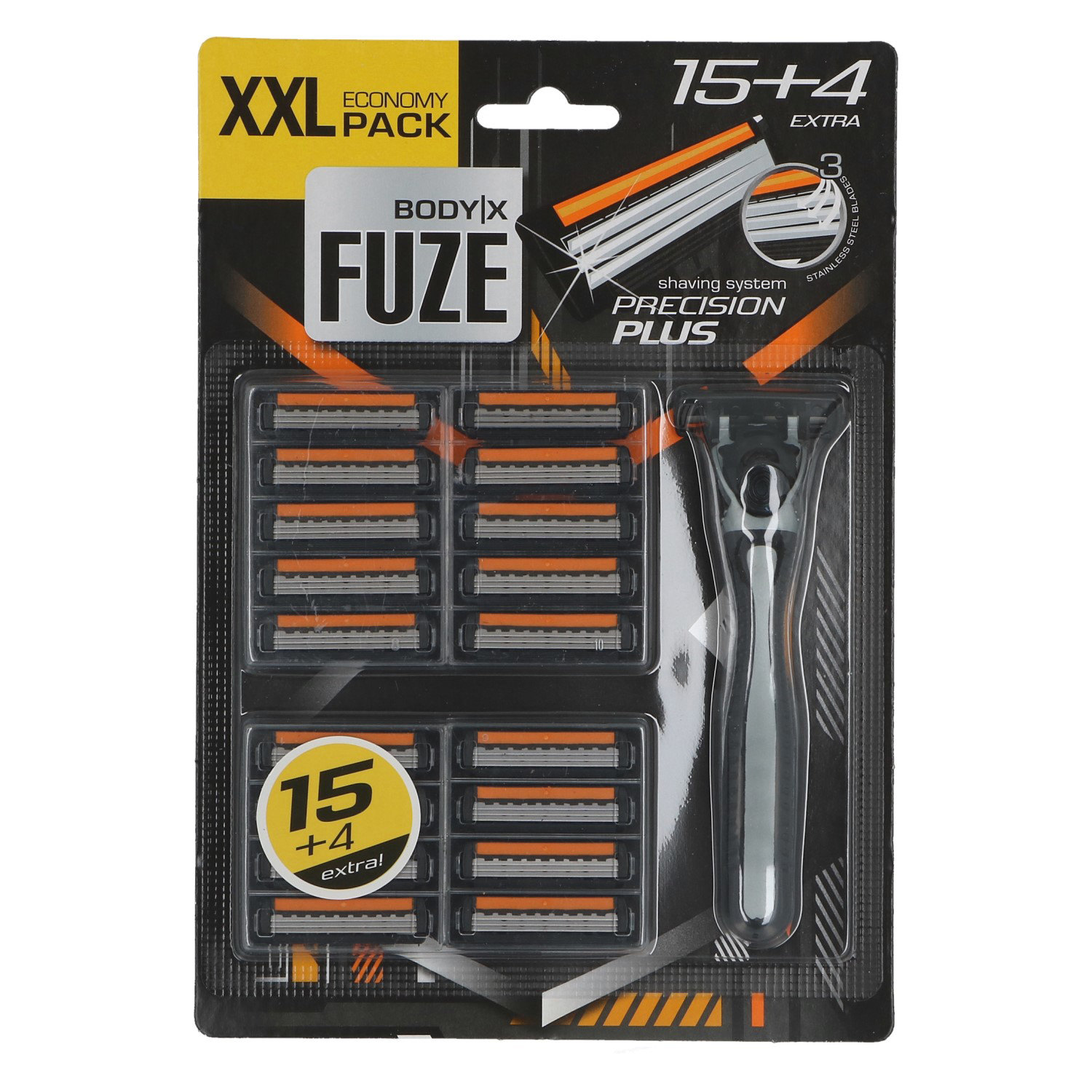 00645 - Razor for men 16+5 tripple blades