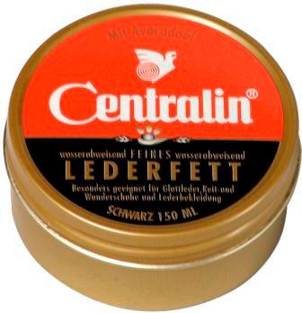 00664 - Centralin Lederfett 150g Dose -schwarz-