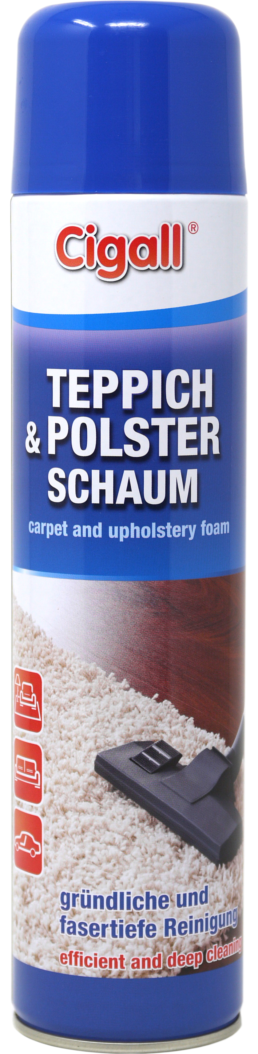 00706 - Cigall Teppich- und Polsterschaum 600 ml