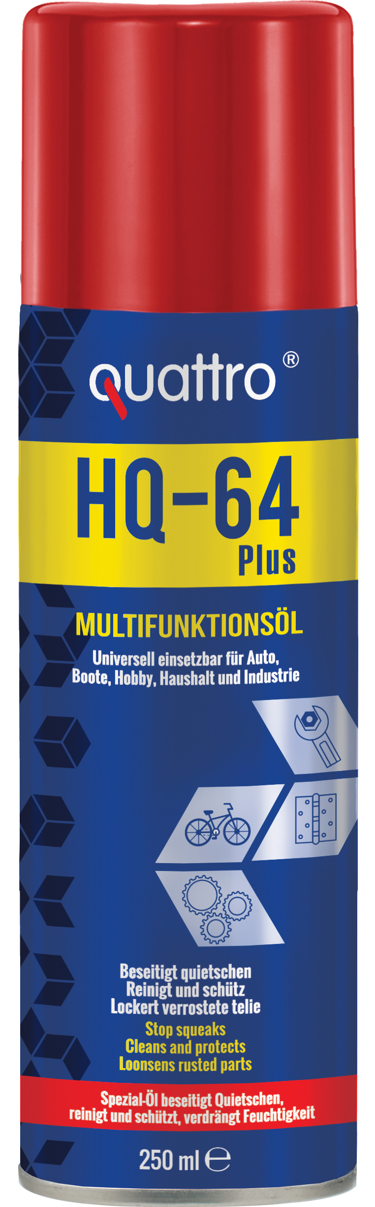 00716 - quattro Multifunktionsöl HQ-64 Plus 250 ml