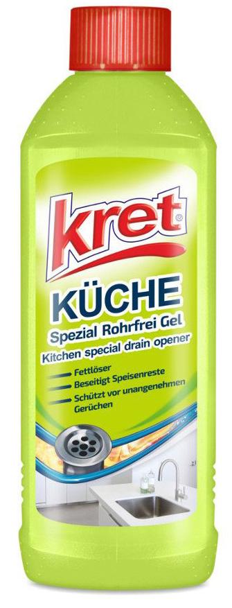00724 - kret Küche Spezial Rohrfrei Gel 500 ml