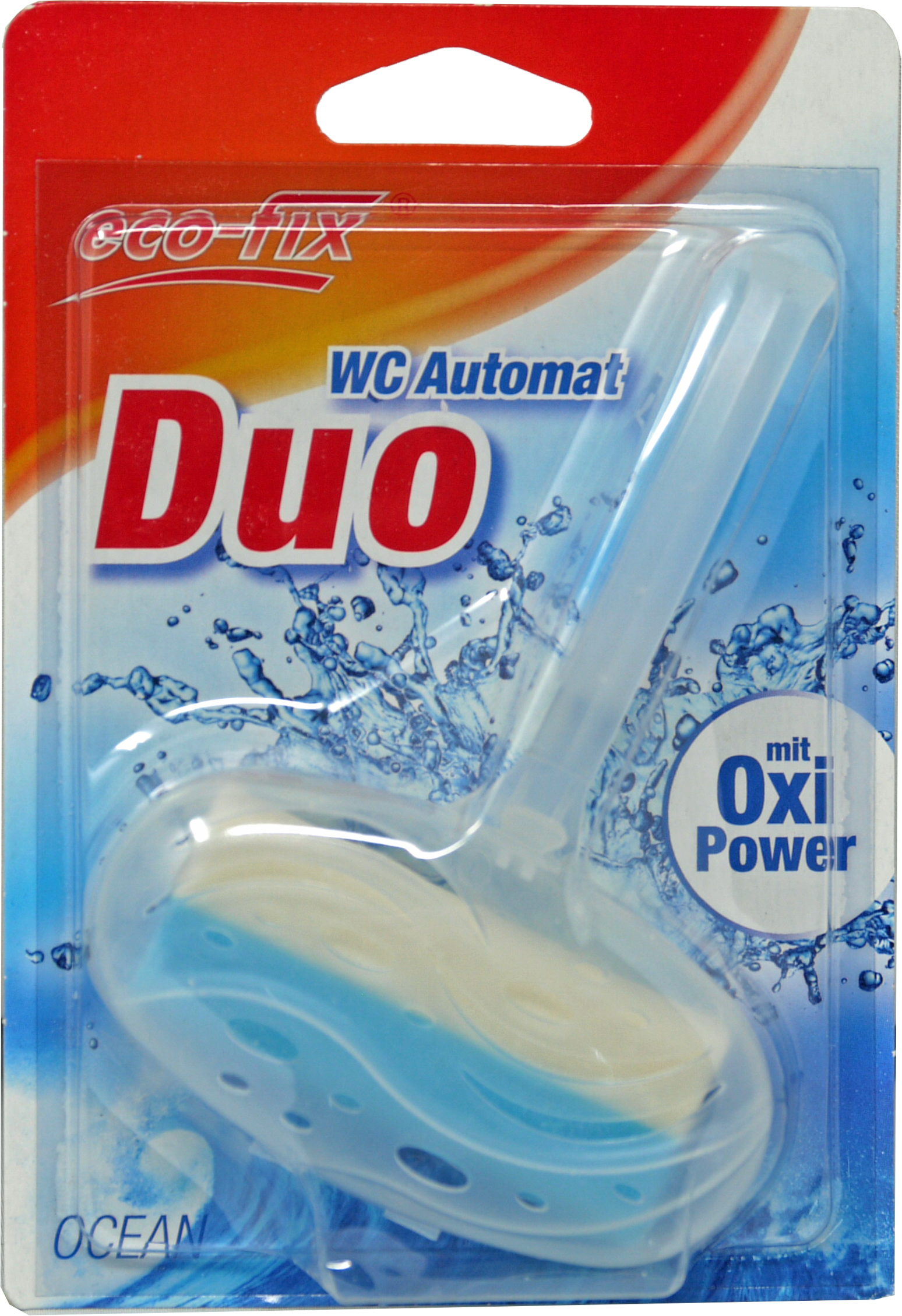 00873 - eco-fix WC Automat Duo mit Oxi-Power, 40 g, Ocean