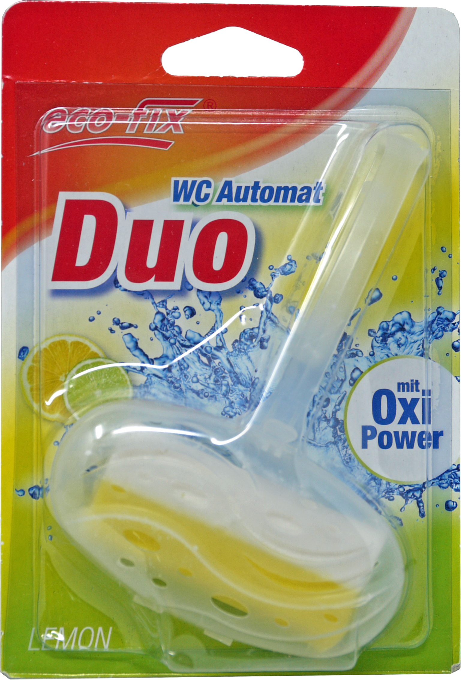 00874 - eco-fix WC Automat Duo mit Oxi-Power, 40 g., Lemon