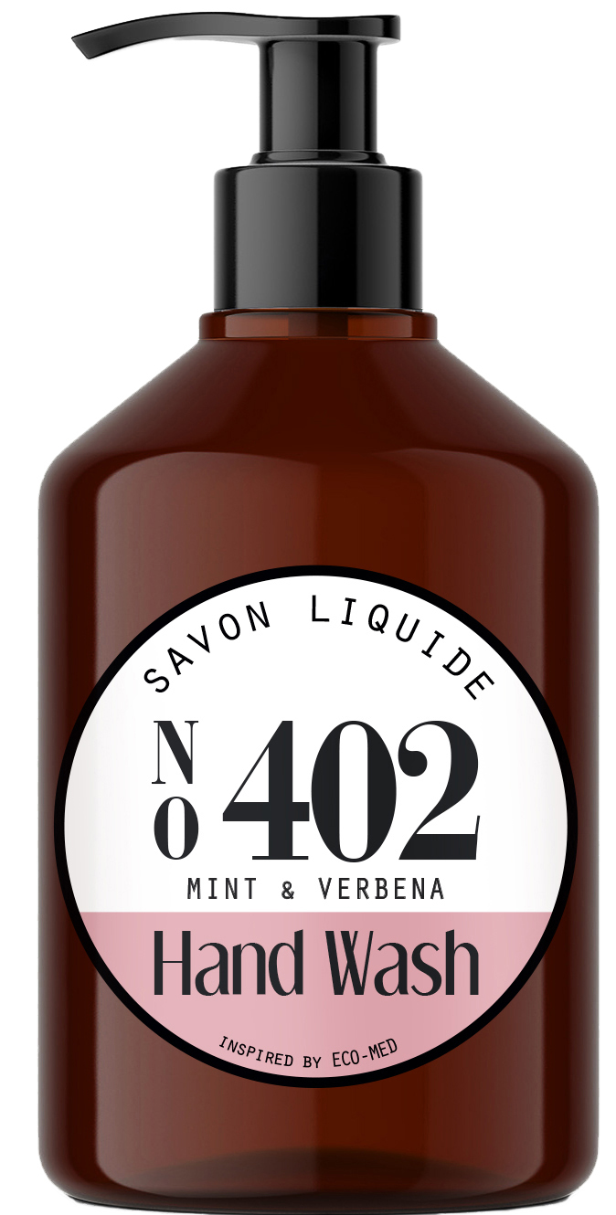 01606 - hand wash no 402 - mint & verbena 500 ml