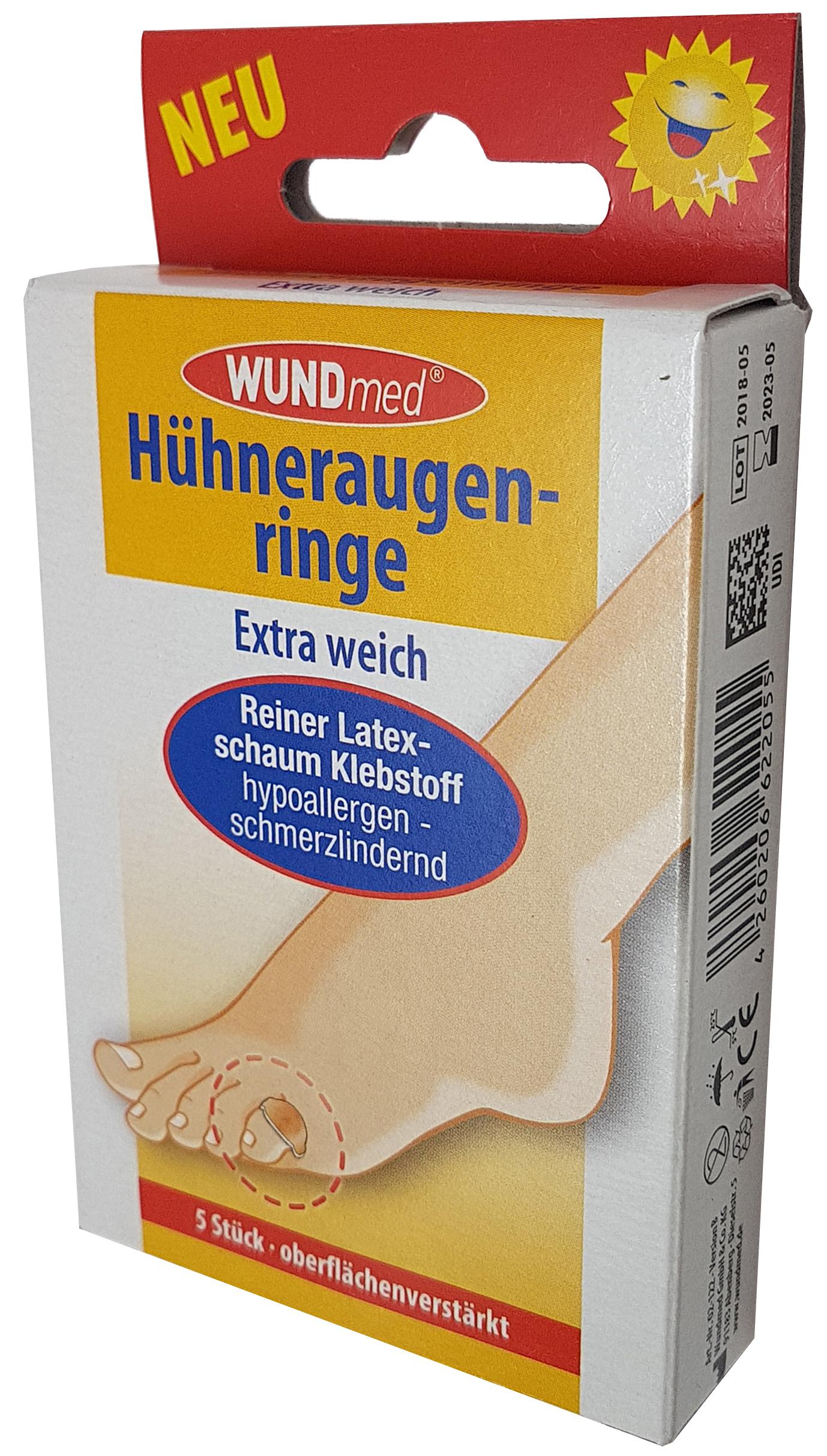 01757 - Hühneraugenringe 5er, extra weich
